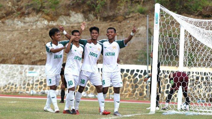 Sedang Berlanguang Susunan Pemain Jatim vs Jabar di PON XX Papua 2021 - Mesin Gol Jatim Istirahat