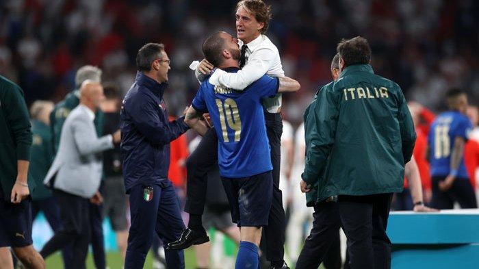 Hasil Skor Akhir Italia vs Inggris di Final EURO 2020, Gli Azzurri Juara Lewat Adu Penalti