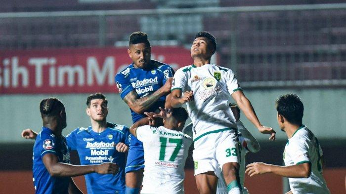Skor Persib Bandung vs PS Sleman Imbang 1-1 hingga Babak Pertama Semifinal Piala Menpora 2021