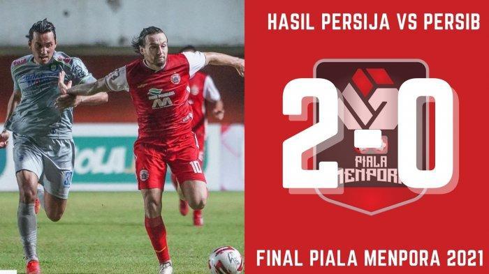 Hasil Skor Akhir Persija vs Persib Bandung: 2-0, Catatan Tak Terkalahkan Ezra Walian CS Terpatahkan