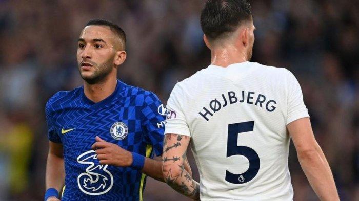 Hasil Skor Chelsea vs Tottenham 2-2: Brace Hakim Ziyech Tak Mampu Bawa The Blues Ungguli Spurs