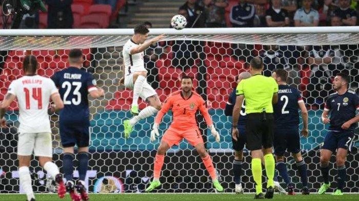 Hasil Skor Inggris vs Skotlandia: Laga Ketat Saling Serang, Babak Pertama Berakhir 0-0