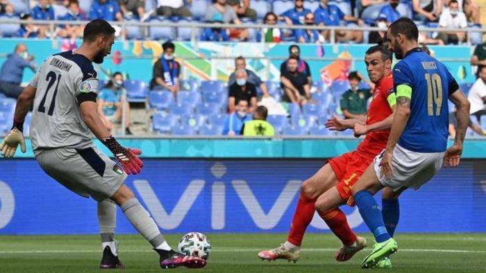Hasil Skor Italia vs Wales: Gelandang Muda Atalanta Beri Keunggulan Gli Azzurri di Babak Pertama