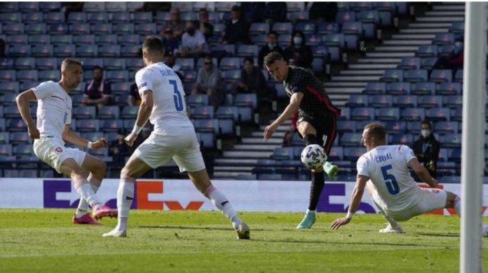 Hasil Skor Kroasia vs Ceko: 1-1, Gol Balasan Ivan Perisic Perpanjang Asa The Blazers di Euro 2020
