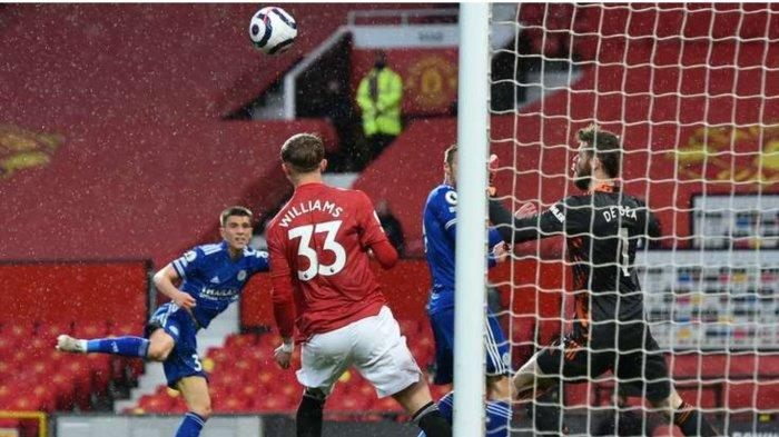 Hasil Skor Man United vs Leicester City di Old Trafford, Rabu (12/5/2021)