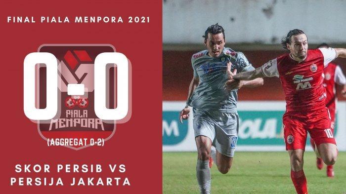 Hasil Skor Persib vs Persija Jakarta di Babak I: 0-0, Satu Pemain Maung Bandung Dikartu Merah