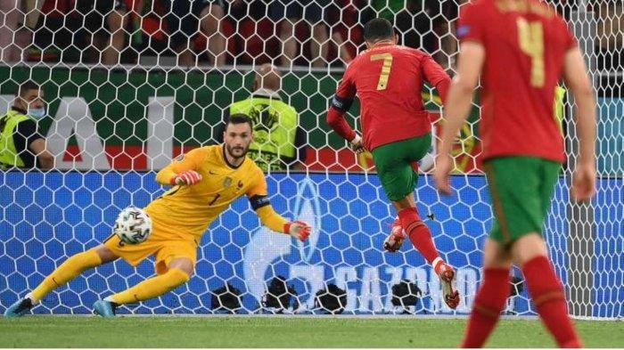 Hasil Skor Portugal vs Jerman Ronaldo cetak gol penalti