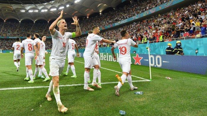 Prediksi Skor Swiss vs Spanyol: LIVE RCTI 23.00 WIB, Sang Kuda Hitam Kehilangan Granit Xhaka