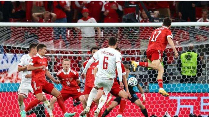 Hasil Skor Rusia vs Denmark 1-4: Dramatis, Tim Dinamit Lolos ke Babak 16 Besar Euro 2020
