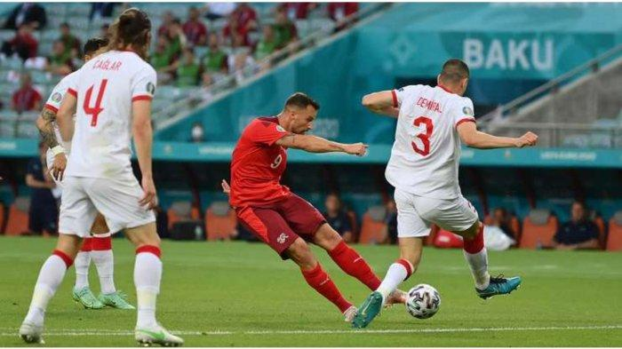 Hasil Skor Swiss vs Turki: Foto Seferovic cetak gol pertama, Senin (20/6/2021)