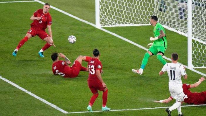 Hasil Skor Turki vs Italia: 0-3, Gli Azzurri Raih Kemenangan di Laga Pembuka Euro 2020