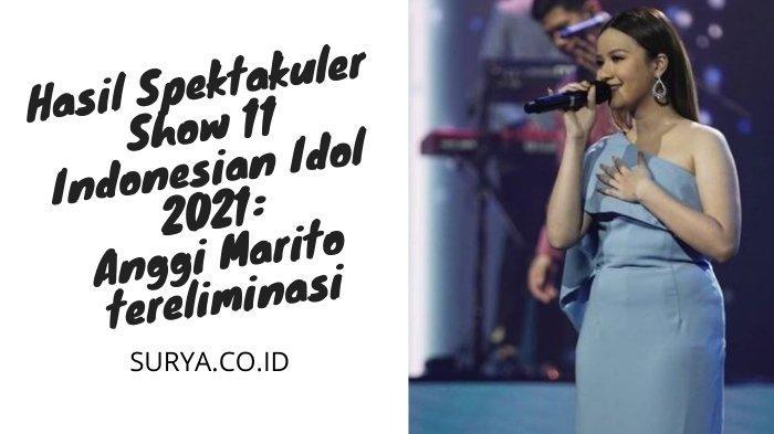 Hasil Spektakuler Show 11 Indonesian Idol 2021: Anggi Pulang, Prediksi Maia Estianty Terpatahkan
