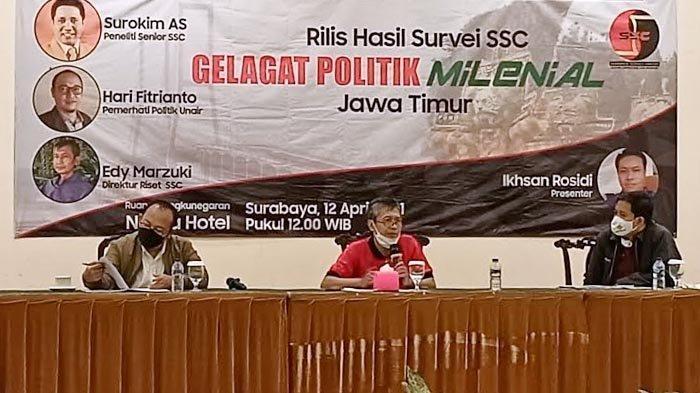Bursa Pilgub Jatim 2024, Nama Khofifah, Risma dan Emil Dardak Jadi Calon Gubernur Favorit Millenial