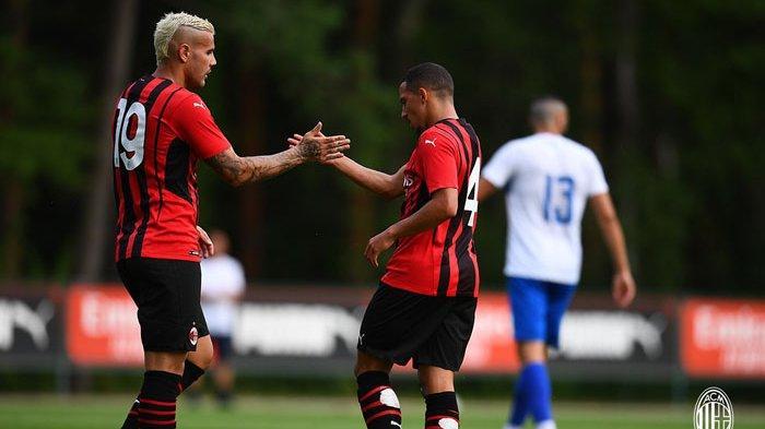 Hasil Uji Coba Pramusin AC Milan, I Rossoneri Tampil Superior