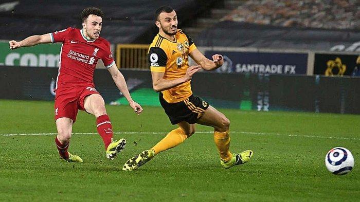 Hasil Wolves vs Liverpool: Skor Akhir 0-1, Diogo Jota Sukses Antar The Reds Bungkam Sang Mantan