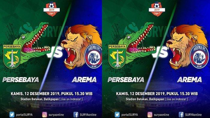Head to Head Persebaya vs Arema FC, Bajul Ijo Punya Catatan Bersejarah Lawan Singo Edan
