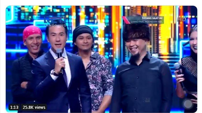 Heboh Kemesraan Ahmad Dhani dan Maia Estianty di Grand Final Indonesian Idol, Trending Twitter