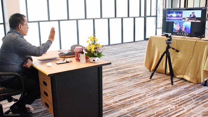 Sekdaprov Heru Tjahjono Minta UMKM Virtual Expo 2020 di Kota Kediri Bisa Diperluas ke Seluruh Jatim