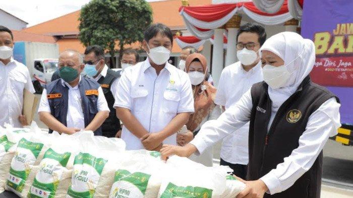 Bantu 25 ton Beras Untuk MBR, Kepedulian Sosial HIPMI Jatim Menuai Apresiasi Gubernur Jatim