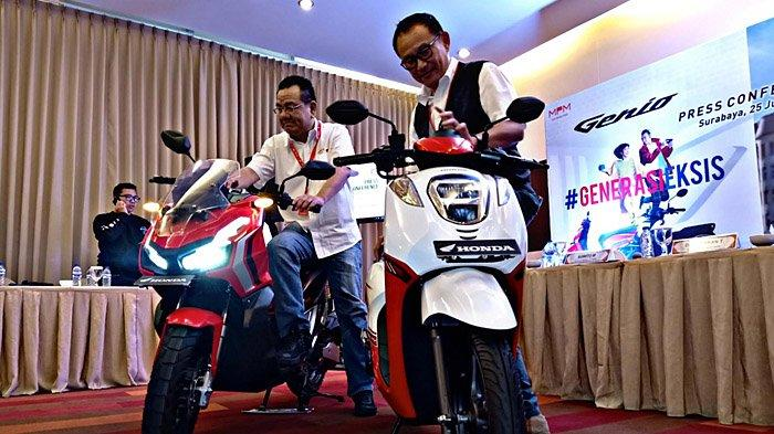 Skutik Casual Fashionable Honda Genio Resmi Meluncur di Jawa Timur, Tersedia 11 Varian Warna