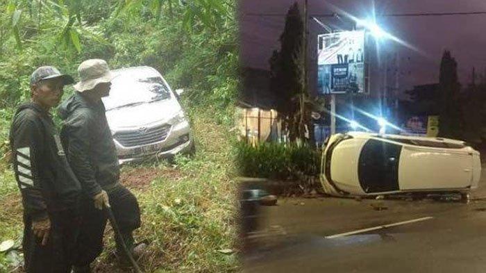 Nasib 5 Penumpang Mobilio Terbalik Hantam Pembatas di Malang, di Majalengka Avanza Nyasar ke Hutan