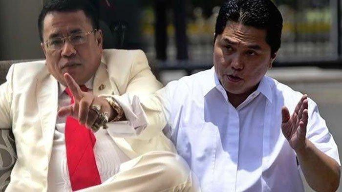 Hotman Paris Bocorkan Chat WA dari Erick Thohir, Menteri BUMN Minta Nama Pramugari yang Jadi Korban