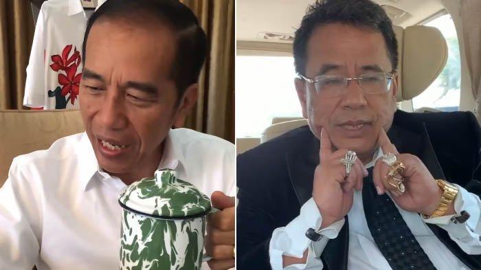 Hotman Paris Komentari Gaya Presiden Jokowi Minum Jamu, Tanggapan Ivan Gunawan Justru Bikin Salfok