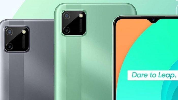 Hp Realme C11 Harga Rp 1 Jutaan, Posisi Kamera Mirip iPhone 11 dan Punya Baterai Jumbo 5.000 mAh