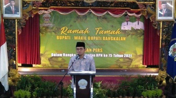 Berharap Bukan Lagi 'Bad News is Good News', Pemkab Bangkalan Akui Pers Mendukung Iklim Investasi