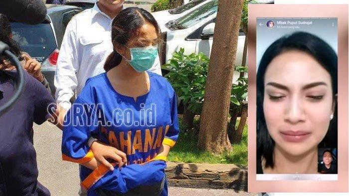 Vanessa Angel Berurai Air Mata saat Video Call dengan Ayahnya, Doddy Sudrajat Jenguk Berikan Mukenah