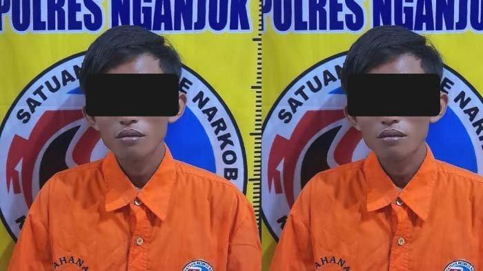 Buruh Tani Asal Kediri Ditangkap Polisi Nganjuk Diduga Jadi Pengedar Pil Koplo