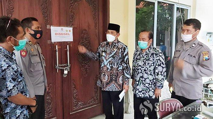 Pj Bupati Sidoarjo Sidak di Kecamatan untuk Pastikan Surat Suara Pilkada Aman