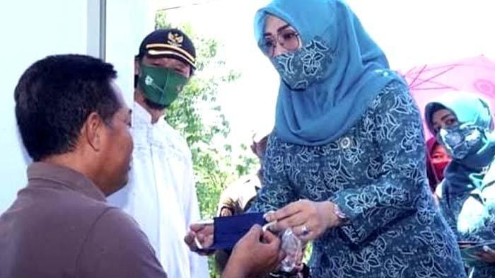 Dukung Pemerintah Cegah Penyebaran Covid-19, PKK Nganjuk Intensifkan Gebrak Masker hingga Pedesaan
