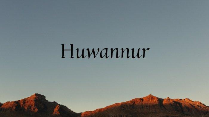 Lirik Huwannur Tulisan Arab dan Terjemahan, Huwan Nuuru Yahdiil Haa Irina Dliyaa Uhu