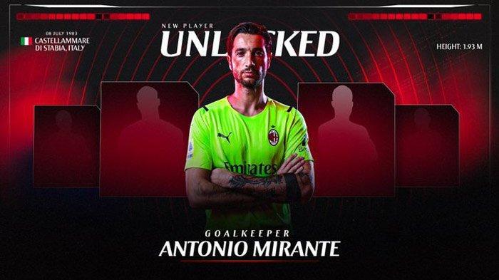 AC Milan Rekrut Kiper Buangan AS Roma untuk Gantikan Mike Maignan