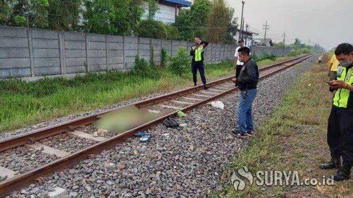 Ibu Asal Surabaya Meninggal Tertabrak Kereta Api Saat Jalan Kaki di Candi Sidoarjo