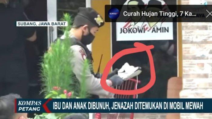 Misteri Sepatu Sport Putih dan Helm di TKP Pembunuhan Ibu dan Anak Di Subang
