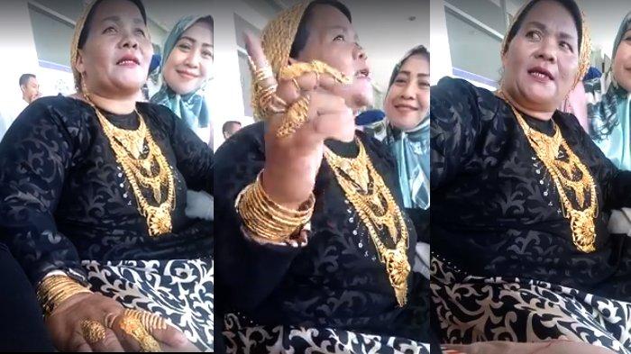 VIDEO - Gokil! Simak Pengakuan Ibu Pakai 1000 Gram Emas ini, Bikin Mendelik!