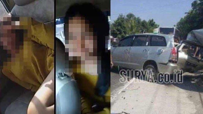 Identitas 4 Korban Kecelakaan Selorejo Nganjuk, Innova Vs Bus Mira, Perekam Video Bernasib Mujur