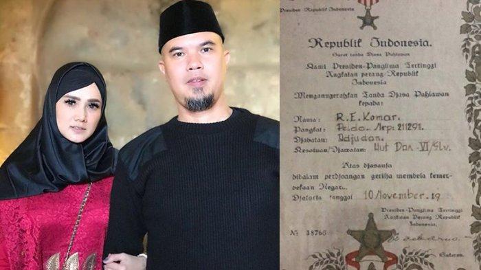 Identitas Ayah Mulan Jameela Bukan Orang Sembarangan, Mertua Dhani Dianugerahi Tanda Jasa Pahlawan