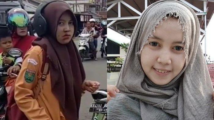 Identitas Siswi SMA yang Tabrakkan Motor ke Pelaku Jambret Viral di WhatsApp & IG, Baru Saja Ultah
