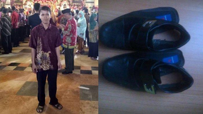 Kisah Pria Bersepatu Jebol Hadiri Pernikahan Anak Jokowi, Reaksi Presiden Tak Disangka