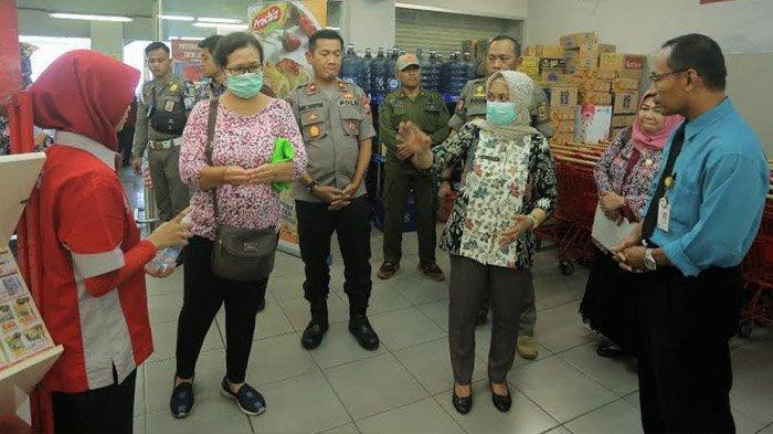 Cegah Penyebaran Virus Corona, Wali Kota Ika Puspitasari Sidak ke Sejumlah Area Publik di Mojokerto