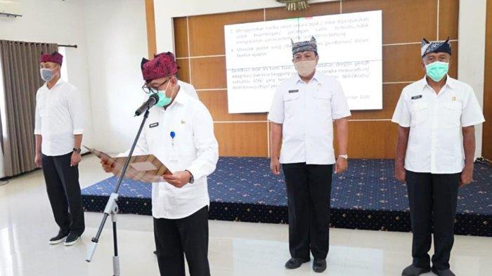 Jelang Pilkada Banyuwangi 2020, ASN Banyuwangi Gelar Ikrar Netralitas