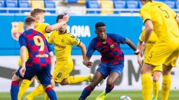 LIVE SCORE Barcelona vs Granada, Babak Pertama Tertingga 0-1, Gol Cepat Duarte