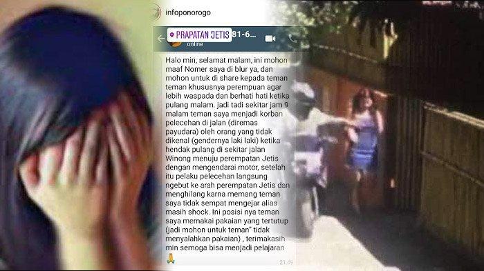 Begal Payudara Dilawan Mahasiswi Cantik Terjengkang di Kubangan, Basah Kuyup Lari Terbirit-birit