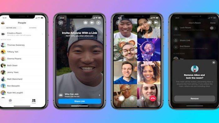 Cara Mengakses Facebook Messenger Rooms yang Mirip Zoom, Hanya Bisa via Google Chrome dan Aplikasi