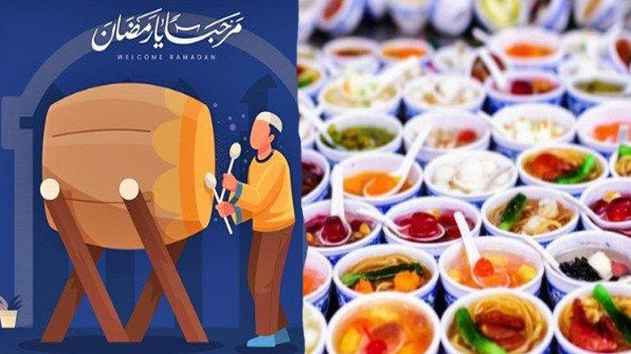 ILUSTRASI Jadwal Buka Puasa Ramadhan