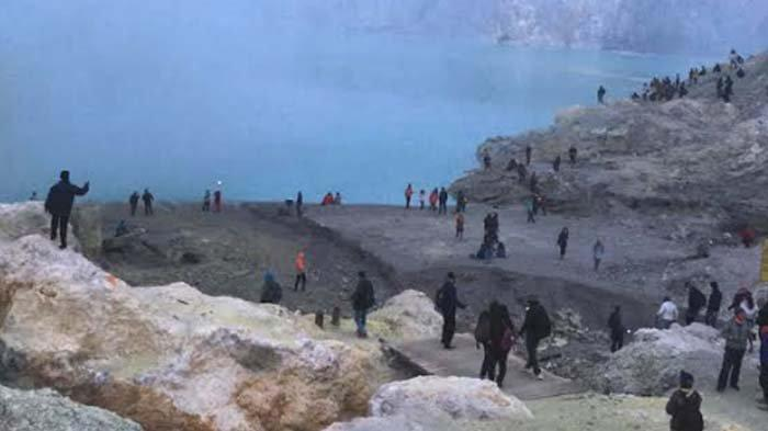 Wisata Kawah Ijen kembali Dibuka untuk Turis Asing, Wajib Terapkan Protokol Kesehatan Ketat