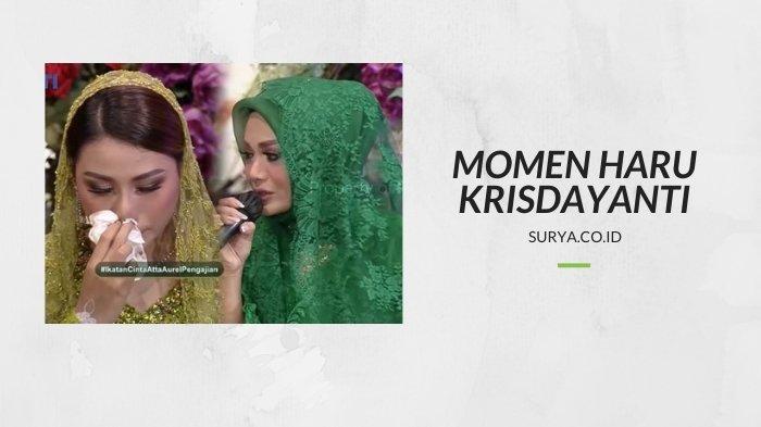 ILUSTRASI. momen haru antara Krisdayanti dan putri sulungnya, Aurel Hermansyah